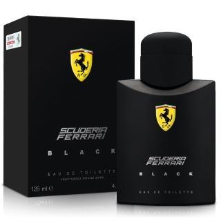 【Ferrari法拉利】黑色法拉利男性淡香水 125ml-Tester(送品牌針管隨機款)
