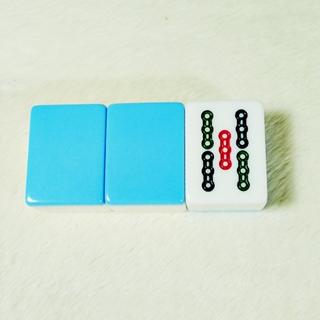 【四面埋伏】叮噹藍麻將組(33mm)
