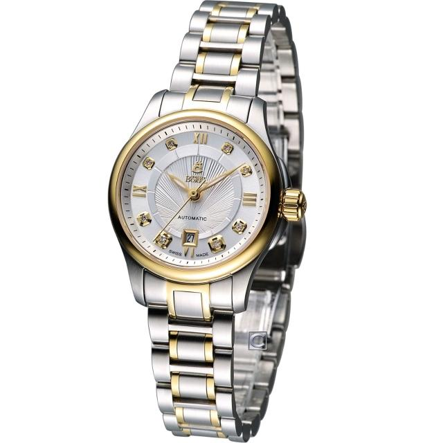 【E.BOREL 依波路】布拉克系列機械腕錶(LB7350-2599)