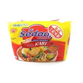 【sedaap】印尼喜達咖哩風味湯麵(73g*5包入)