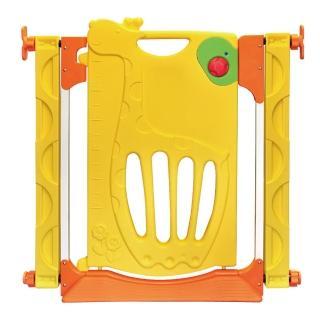 【寶貝樂】可愛長頸鹿三段式門鎖安全門欄