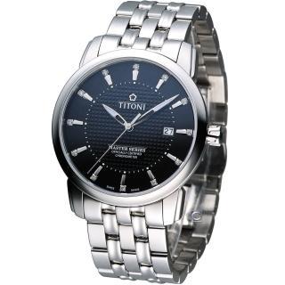 【TITONI 梅花錶】Master Series 天文台認證機械腕錶(83788S-392)