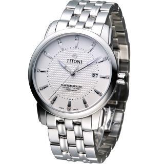【TITONI 梅花錶】Master Series 天文台認證機械腕錶(83788S-391)