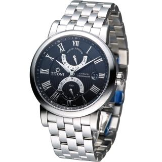 【TITONI 梅花錶】Master Series 天文台認證機械腕錶(94982S-388)