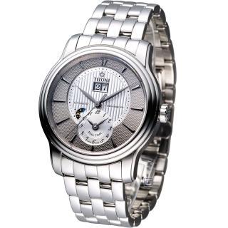 【TITONI 梅花錶】Master Series 天文台認證機械腕錶(94981S-389)