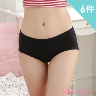 【PINK LADY】經典款 美鑽輕盈無痕內褲3309(6件組)