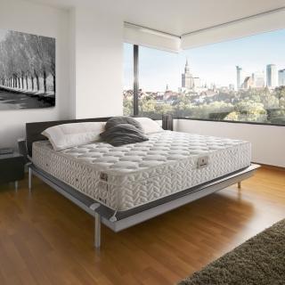 【法國-MONTAGUT】三線美規軟式獨立筒床墊M04-雙人特大6x7尺
