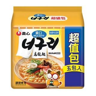 【NONG SHIM】農心爽口海鮮烏龍麵480g(4入/組)