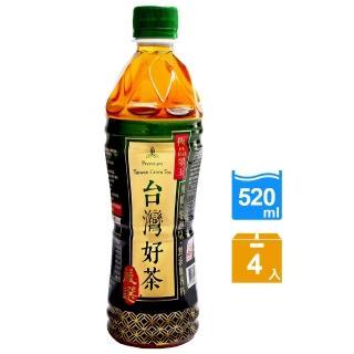 【生活】台灣好茶-無糖極品翠玉 520ml x4瓶入