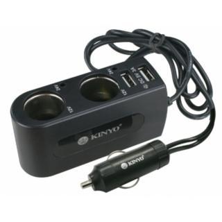 車用點煙器+USB點煙器擴充座(CRU-19)