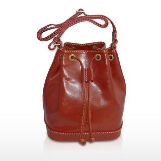 【Sika】義大利皮革肩背大水桶包(M6047-01)
