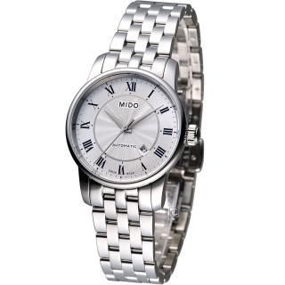 【MIDO 美度】Baroncelli II 羅馬假期機械腕錶(M76004211)