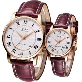 【MIDO 美度】Baroncelli II 永恆機械對錶(M86002218-M76002218)