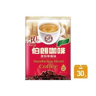 【伯朗咖啡】伯朗二合一曼特寧風味-無糖/30入