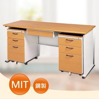 【時尚屋】DIY5尺STHA木紋辦公桌櫃組(251-12)