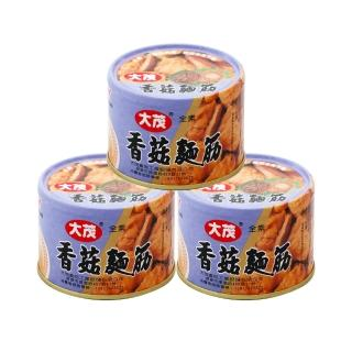 【大茂】香菇麵筋-鐵罐(170g*3)