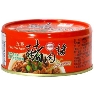 【台糖】安心豚豬肉醬-五香(160g*3)
