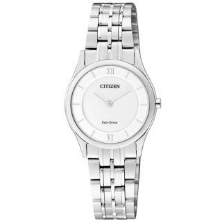 【CITIZEN】漫步時光都會薄型腕錶(銀白 EG3220-58A)