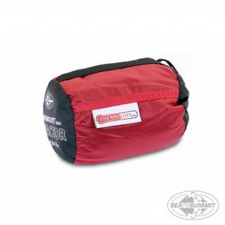 【SEA TO SUMMIT】單人保暖睡袋內套+15度保暖(紅色)