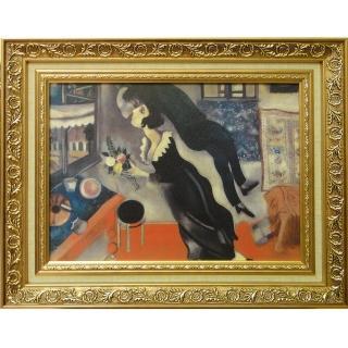 【開運陶源】Marc CHAGALL馬克 夏卡爾的畫-生日快樂(中幅)