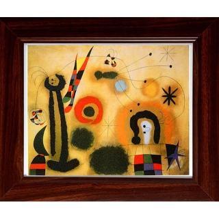【開運陶源】Miro米羅的抽象畫(Pleasure)