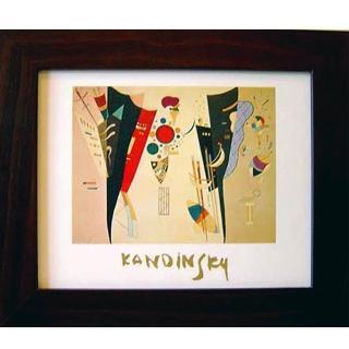 【開運陶源】KANDINSKY康丁斯基抽象畫壁畫(橫幅系列1)