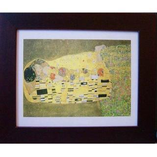 【開運陶源】Klimt克林姆之世界名畫(Kiss...吻 /橫式)