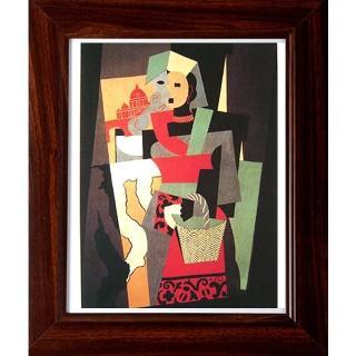 【開運陶源】picasso畢卡索的抽象畫(提籃婦女)
