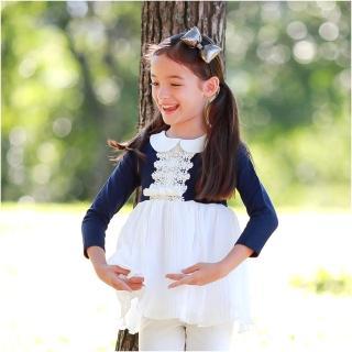 【BABY童衣】歐風氣質經典時尚女童連衣裙 37199(共一色)