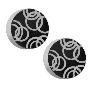 【ROYAL DAMON羅亞戴蒙】『幾何圓圈』耳環