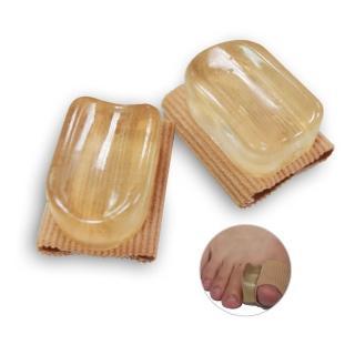 【Aqnui】拇指外翻內層矽膠型保護套(4個/兩雙)