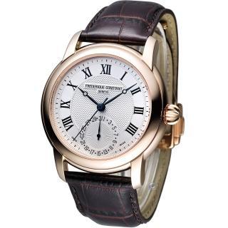 【CONSTANT 康斯登】經典製造紳士腕錶(FC-710MC4H4)