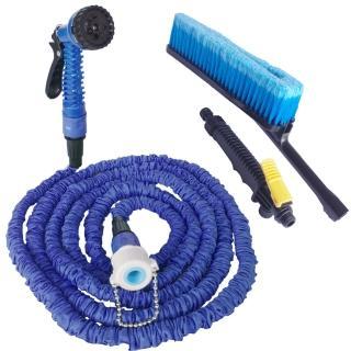 多功能神奇彈力伸縮水管清潔組/汽車清潔組(加贈超細抹布10條)