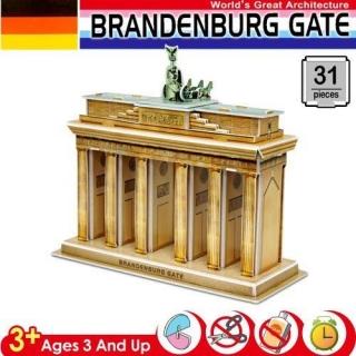 ~3D立體拼圖之世界好好玩~德國~布蘭登堡大門