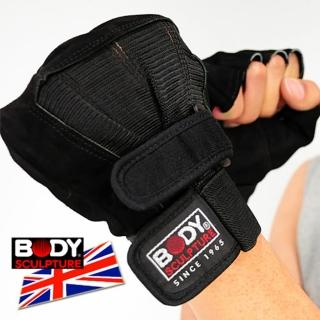 【BODY SCULPTURE】BW-86 絨面皮革健身手套(C016-86)