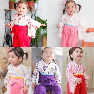 【BABY童衣】和服 日式經典女寶寶連身衣 童裝 造型服 37301(共3色)