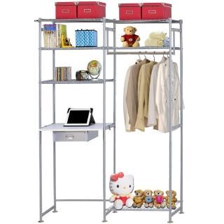 【巴塞隆納】WP3型60公分+E60公分電腦桌衣櫥架(無防塵)