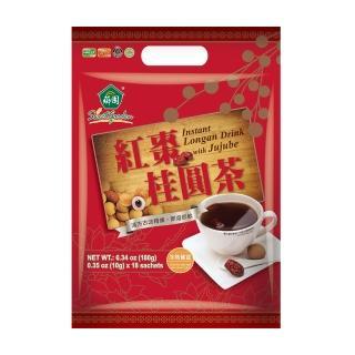 【薌園】紅棗桂圓茶-紅潤好氣色即溶冷熱飲(10G-18包)