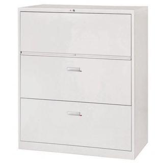 【時尚屋】複合式三層鋼製公文櫃(Y104-11)