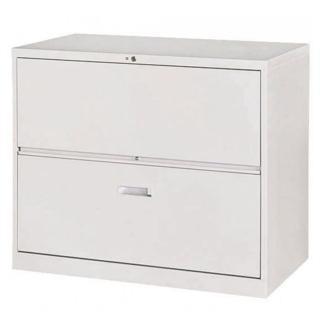 【時尚屋】複合式二層鋼製公文櫃(Y104-7)