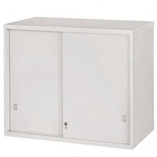 【時尚屋】拉門上置式鋼製公文櫃(Y103-7)
