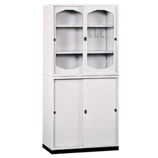 【時尚屋】K315圓框A級3x6拉門鐵櫃(Y116-5)