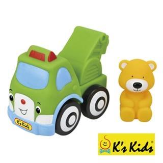 【Ks Kids】彩色安全積木-波比熊吊車