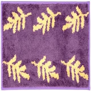 【櫻之舞】草葉集系列超細纖維止滑踏墊(紫色45*65cm)
