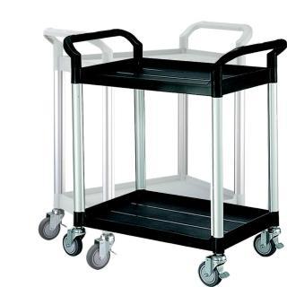 【COLOR】精緻標準型2層工具/餐推車(高級儀器輪)
