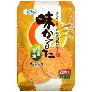 【即期出清】Bonchi 蜂蜜味付煎餅(20枚入)