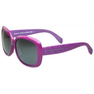 【MARC BY MARC JACOBS】-時尚太陽眼鏡(粉紫色)