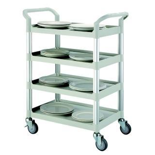 【COLOR】精緻標準型4層工具/餐推車(高級儀器輪)