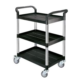 【COLOR】精緻標準型3層工具/餐推車(高級儀器輪)