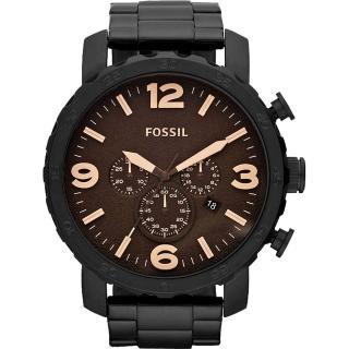 【FOSSIL】大世紀戰神三眼計時腕錶(JR1356)